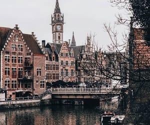 city, architecture, and belgium image