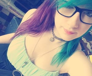 blue hair, girl things, and cute image