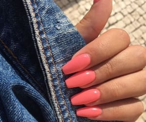 nails, jeans, and neon image