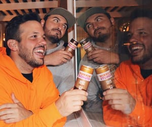 dunkin donuts, heath hussar, and zane hijazi image