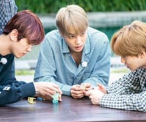 exo, kai, and baekhyun image
