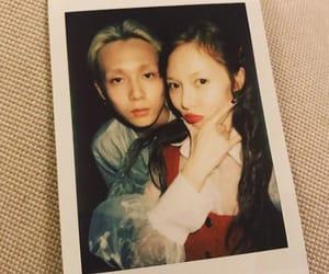 couple, polaroid, and cute image
