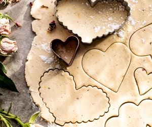 Cookies, rose, and shortbread image