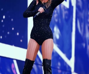 Taylor Swift, black, and concert image