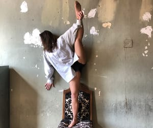 chair, dance, and dancer image