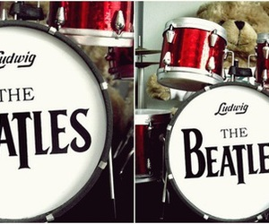 drum, ludwig, and the beatles image