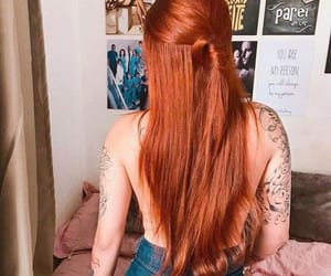 blonde, ink, and redhead image