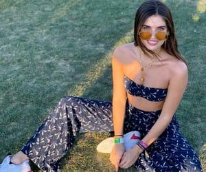 sara sampaio, coachella, and fashion image