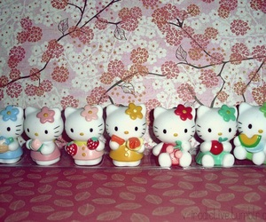 colorful, colours, and hello kitty image