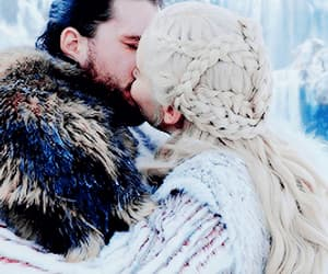 couple, game of thrones, and fantasy image