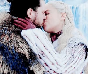 couple, fantasy, and game of thrones image