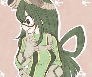 boku no hero academia and tsuyu image