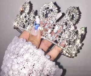 crown, fashion, and diamonds image