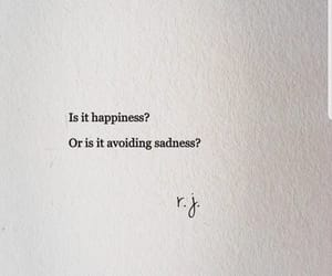 happy, quotes, and sad image