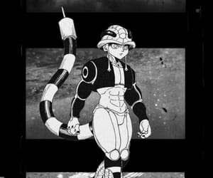 aesthetic, black and white, and hunter x hunter image