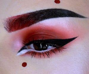 asian, black, and eye image
