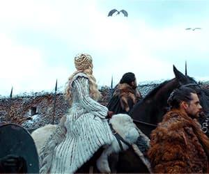 gif, jon snow, and khaleesi image