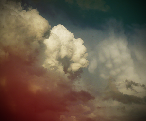 clouds and summer image