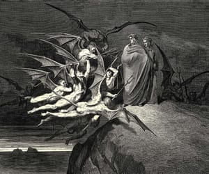art, gustave dore, and inferno image