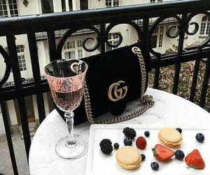gucci, bag, and drink image