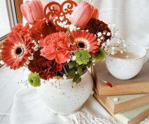 books, perfect, and bouquet image