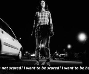 skins, scared, and Effy image