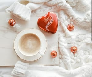 coffee, cup of coffee, and heart image