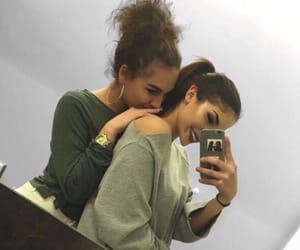 girl, cute, and friendship image