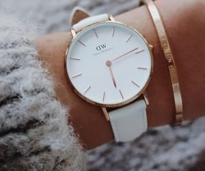 gold, watch, and watching image