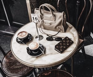 bag, coffee, and day image