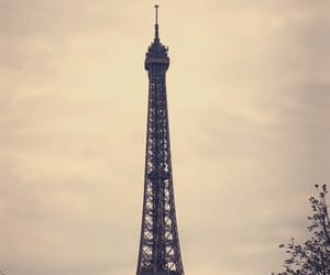 eiffel tower, france, and pretty image