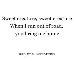 sweet creature and Harry Styles image