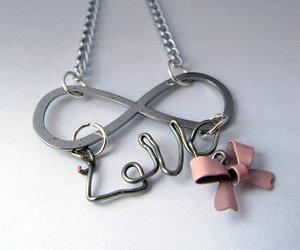 bow, infinity, and ribbon image