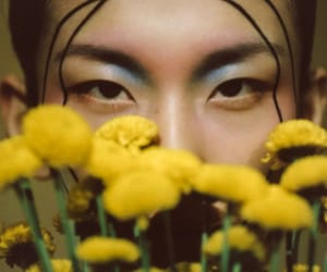 beauty, editorial, and eyes image