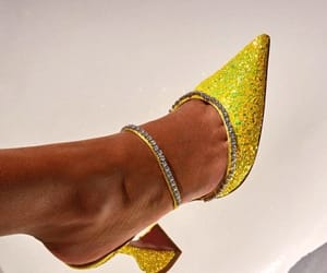 heels, shoes, and sparkly image