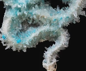 contemporary art, crystals, and turquoise image