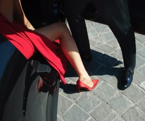 luxury, red, and shoes image