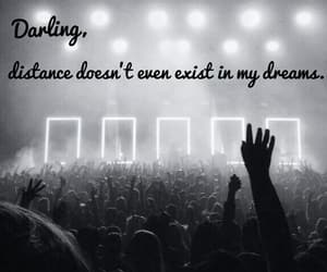 black and white, concert, and Dream image