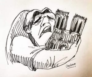france, paris, and notre dame image
