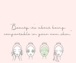 beauty, confortable, and quote image