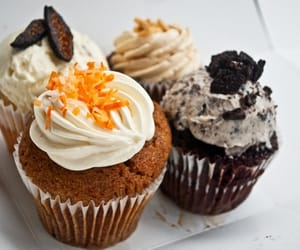 cakes, muffins, and chocolate image