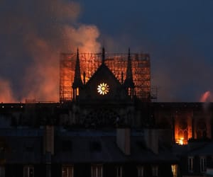 fire, my city, and france image