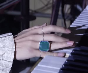 aesthetic, hand, and piano image