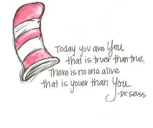 quotes, you, and dr seuss image