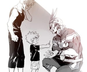 my hero academia, bakugo, and katsuki image