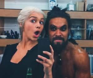 got, daenerys targaryen, and jason momoa image