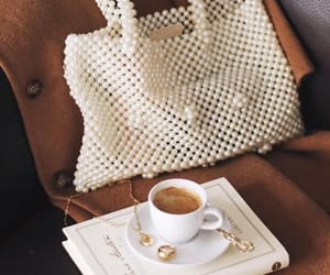 bag, coffee, and breakfast image