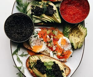 breakfast, brunch, and caviar image