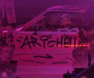 car, coachella, and ariana image