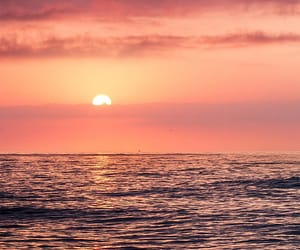 sunrise and ocean image
